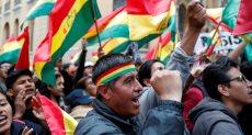 التظاهرات فى بوليفيا