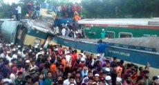 تصادم قطارين فى بنجلاديش