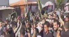 تشييع جنازة القيادى فى حركة الجهاد الإسلامى