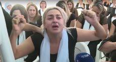 زوجة آخر الضحايا اللبنانيين