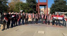 مظاهرة الجالية المصرية في جنيف