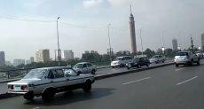 انتظام حركة المرور بميدان الإسعاف