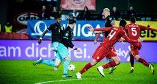 من مباراة النمسا ومقدونيا الشمالية