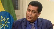 دينا مفتى سفير إثيوبيا فى القاهرة