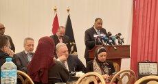زيارة وفد البرلمان وحقوق الإنسان لسجن برج العرب