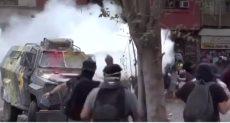 اشتباكات بين الأمن والمتظاهرين فى تشيلى