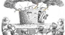 كاريكاتير الإيرانيين