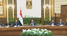 اجتماع الرئيس السيسى بالمحافظين الجدد ونوابهم