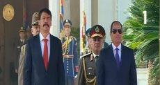 مراسم الاستقبال الرسمية للرئيس المجري بقصر الاتحادية