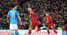 ليفربول ضد نابولي