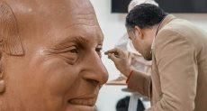 مصمم تمثال مجدى يعقوب