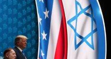 ترامب فى المجلس الإسرائيلى الأمريكي