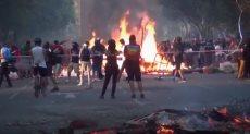 العنف فى تشيلى