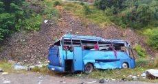 تحطم حافلة - أرشيفية
