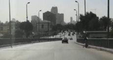 سيولة مرورية بكورنيش النيل من روض الفرج حتى التحرير