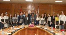جامعة أسيوط تودع ضيوفها من الطلاب الروس