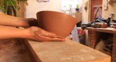 صناعة الفخار في قرية تونس