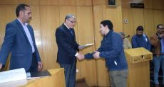 اللواء أسامة القاضى محافظ المنيا