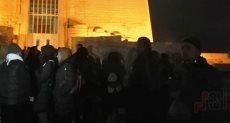 ترقب تعامد الشمس على معبد قصر قارون
