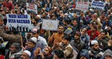 تظاهرات الهند