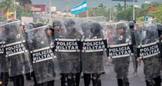 قوات الأمن فى هندوراس