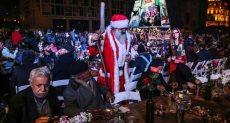 احتفال اللبنانيين بالكريسماس