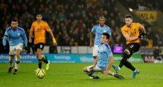 وولفرهامبتون ضد مانشستر سيتي