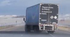 الشاحنة