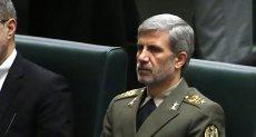 العميد أمير حاتم، وزير الدفاع الإيرانى
