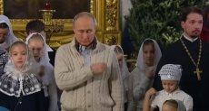 بوتن يحضر قداس عيد الميلاد