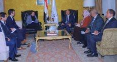 وزير النقل خلال لقائه القائم بأعمال سفير الاتحاد الأوروبى لدى مصر