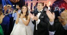 حفل زفاف ابن توفيق عكاشة