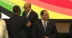 الرئيس عبد الفتاح السيسى يصل مقر انعقاد القمة البريطانية الإفريقية للإستثمار 2020