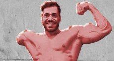 لاعب كمال الأجسام مهران بيرامى