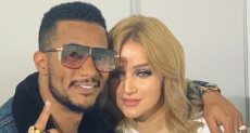 حمد رمضان وزوجته