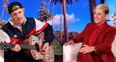 جاستين بيبر في برنامج The Ellen Show