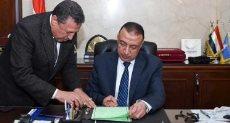 اللواء محمد الشريف محافظ الإسكندرية يعتمد نتيجة الشهادة الإعدادية