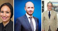 خالد الطوخى ومحمد العزازى وياسمين الكاشف