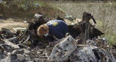 موقع تحطم طائرة كوبى براينت