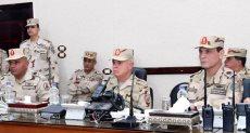 الفريق محمد فريد رئيس أركان حرب القوات المسلحة