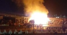 السيطرة على حريق ضخم فى مطعم وكافيه وقاعة أفراح