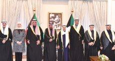 أمير الكويت يستقبل الوزراء الجدد