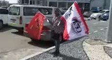 أعلام الأهلى والزمالك تزين شوارع أبوظبى