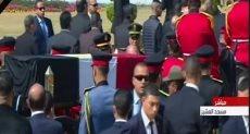 جثمان الرئيس الأسبق حسنى مبارك