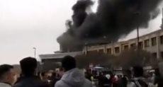 حريق فندق فى ايران