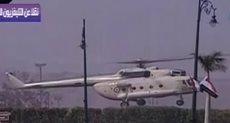 طائرة تحمل جثمان الرئيس الأسبق حسنى مبارك