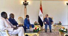 السيسي يستقبل نائب رئيس جنوب السودان ويرحب بتشكيل حكومة الوحدة