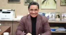الدكتور عبد الرحيم على عضو مجلس النواب ورئيس مركز دراسات الشرق الأوسط بباريس