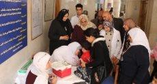 تطعيم الأطفال ضد الحصبة والحصبة الألمانية بكفر الشيخ