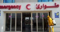اجراءات احترازية صارمة بمستشفى سعاد كفافى الجامعى